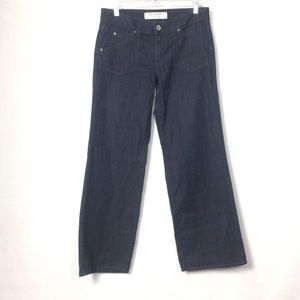 Hudson wide leg dark wash jeans size 30